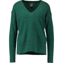 Swetry klasyczne damskie: ICHI LAVENDER Sweter forest biome