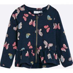 Bluzy dziewczęce rozpinane: Name it - Bluza dziecięca 92-104 cm