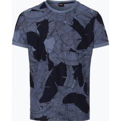 T-shirty męskie z nadrukiem: BOSS Casual – T-shirt męski – Tarit 2, niebieski