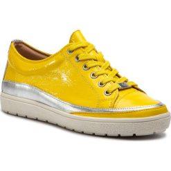 Półbuty CAPRICE - 9-23654-22 Yellow Naplak 613. Różowe półbuty damskie skórzane marki Caprice. Za 269,90 zł.
