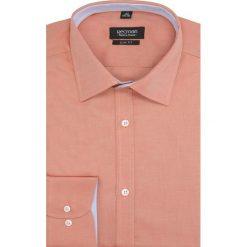 Koszula bexley 1923 długi rękaw slim fit pomarańczowy. Brązowe koszule męskie slim marki FORCLAZ, m, z materiału, z długim rękawem. Za 29,99 zł.