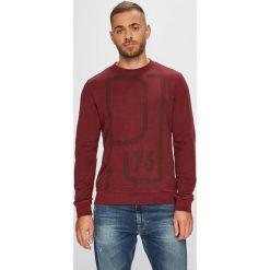 Pepe Jeans - Bluza. Brązowe bluzy męskie rozpinane Pepe Jeans, l, z nadrukiem, z bawełny, bez kaptura. Za 259,90 zł.