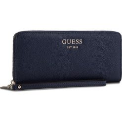 Duży Portfel Damski GUESS - SWVG69 95460 NAV. Niebieskie portfele damskie Guess, z aplikacjami, ze skóry ekologicznej. Za 279,00 zł.