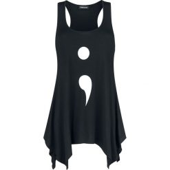 Odzież damska: Jawbreaker Semicolon Top damski czarny
