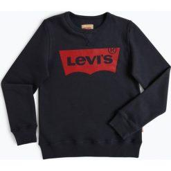 Levi's - Chłopięca bluza nierozpinana, niebieski. Niebieskie bluzy chłopięce rozpinane Levi's®, z bawełny. Za 199,00 zł.