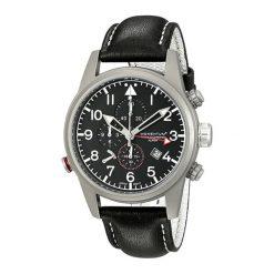 """Zegarki męskie: Zegarek """"1M-SP32B2B"""" w kolorze czarno-srebrnym"""