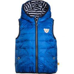 Steiff Collection WENDBAR MINI BOY SPORTS CLUB BABY Kamizelka strong blue. Niebieskie kamizelki dziewczęce marki Steiff Collection, z materiału. Za 299,00 zł.