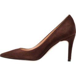 Bianca Di Czółenka orso. Brązowe buty ślubne damskie Bianca Di, z materiału. Za 379,00 zł.
