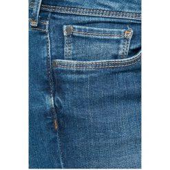 Pepe Jeans - Jeansy Cher. Niebieskie jeansy damskie rurki Pepe Jeans, z bawełny, z obniżonym stanem. W wyprzedaży za 299,90 zł.
