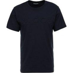 T-shirty męskie: Nicce EMBOSSED Tshirt basic navy