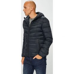 Geox - Kurtka. Czarne kurtki męskie pikowane Geox, m, z materiału, z kapturem. Za 769,90 zł.