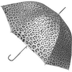 """Parasole: Parasol """"Animal"""" w kolorze srebrno-czarnym"""