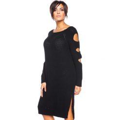 """Sukienki hiszpanki: Sukienka """"Pepita"""" w kolorze czarnym"""