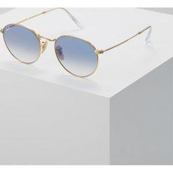 RayBan Okulary przeciwsłoneczne goldcoloured. Szare okulary przeciwsłoneczne damskie lenonki marki Ray-Ban, z materiału. Za 569,00 zł.
