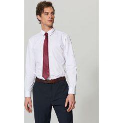 Elegancka koszula z tkaniny poplin - Biały. Białe koszule męskie marki Reserved, l. Za 79,99 zł.