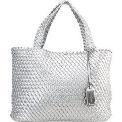 Shopper bag damskie: Buffalo SET Torba na zakupy silver