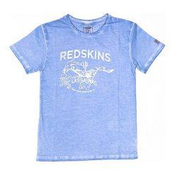 T-shirty chłopięce: Koszulka w kolorze błękitnym