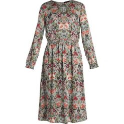 Sukienki hiszpanki: Cortefiel FLOWER PRINT MIDI DRESS Sukienka letnia greens