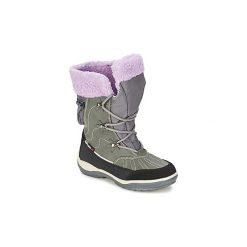 Śniegowce Dziecko Kangaroos  KANGASNOWGIRLS 2020. Niebieskie buty zimowe chłopięce marki KangaROOS. Za 154,50 zł.