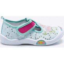 American Club - Tenisówki dziecięce. Szare buty sportowe dziewczęce American CLUB, z gumy, z okrągłym noskiem. Za 39,90 zł.