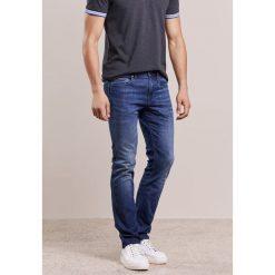 BOSS Green DELAWARE Jeansy Slim Fit dark blue. Niebieskie jeansy męskie BOSS Green. W wyprzedaży za 503,20 zł.