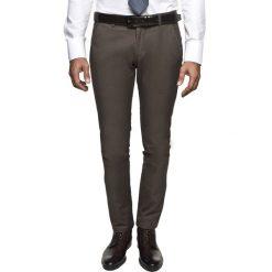 Spodnie mezza 216 brąz slim fit. Czerwone rurki męskie marki Recman, m, z długim rękawem. Za 229,00 zł.