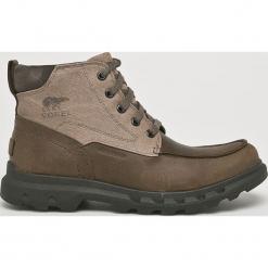 Sorel - Buty. Szare buty trekkingowe męskie Sorel, z gumy, outdoorowe. Za 799,90 zł.