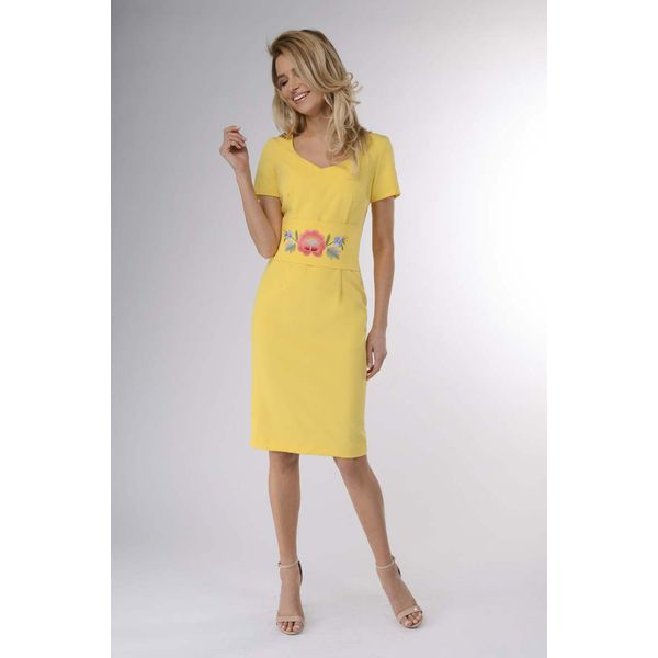 d2846b591b Żółte sukienki damskie koktajlowe - Zniżki do 50%! - Kolekcja wiosna 2019 -  myBaze.com