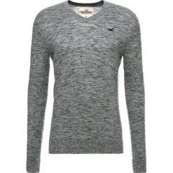 Swetry klasyczne męskie: Hollister Co. CORE V SOLID Sweter light grey texture