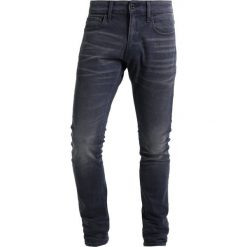 GStar 3301 DECONSTRUCTED SUPER SLIM Jeans Skinny Fit kess grey denim. Szare jeansy męskie relaxed fit G-Star, z bawełny. Za 419,00 zł.