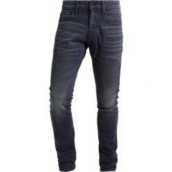 GStar 3301 DECONSTRUCTED SUPER SLIM Jeans Skinny Fit kess grey denim. Czerwone jeansy męskie relaxed fit marki G-Star, l, z napisami. Za 419,00 zł.