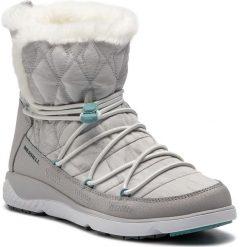 Śniegowce MERRELL - 1Six8 Farchill Mid Polar Ac+ J94894 White. Białe buty zimowe damskie Merrell, z materiału, na niskim obcasie. W wyprzedaży za 369,00 zł.