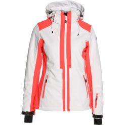 Icepeak NELLY  Kurtka narciarska optic white. Białe bomberki damskie Icepeak, z elastanu, narciarskie. W wyprzedaży za 439,20 zł.