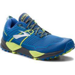 Buty BROOKS - Cascadia 13 110285 1D 405 Blue/Black/Lime. Niebieskie buty do biegania męskie Brooks, z materiału. W wyprzedaży za 409,00 zł.