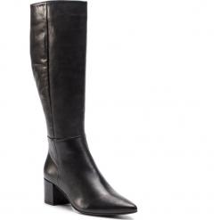 Kozaki HÖGL - 6-104923 Black 0100. Czarne buty zimowe damskie marki HÖGL, z materiału. Za 949,00 zł.