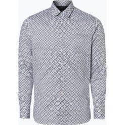 Koszule męskie na spinki: BOSS Casual – Koszula męska – Cattitude_1, czarny