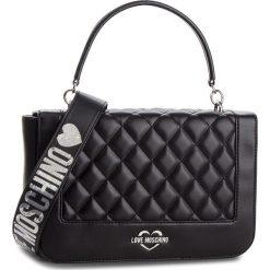 Torebka LOVE MOSCHINO - JC4211PP06KA000B Nero. Czarne torebki klasyczne damskie marki Love Moschino, ze skóry ekologicznej. Za 919,00 zł.