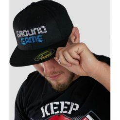 Akcesoria męskie: Ground Game Sportswear Czapka z daszkiem męska Wire czarna r. L/XL (CAPWIREPLLXL)