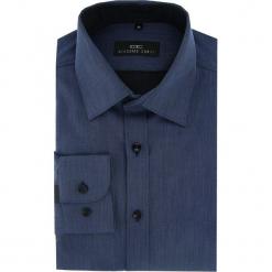 Koszula APOLLO 16-01-01. Szare koszule męskie na spinki marki S.Oliver, l, z bawełny, z włoskim kołnierzykiem, z długim rękawem. Za 229,00 zł.