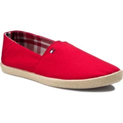 Espadryle męskie: Espadryle TOMMY HILFIGER – Easy Summer Slip On FM0FM00569  Tango Red 611