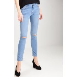 Topshop LEIGH Jeans Skinny Fit blaugrau. Niebieskie boyfriendy damskie Topshop. W wyprzedaży za 148,85 zł.