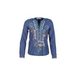 Koszule Desigual  TIMI. Niebieskie koszule nocne i halki marki Desigual, xs. Za 285,35 zł.