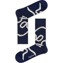 Happy Socks - Skarpety Rope. Niebieskie skarpetki męskie Happy Socks, z bawełny. Za 39,90 zł.