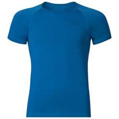Odlo Koszulka męska s/s crew neck Evolution X-light granatowa r. M. Niebieskie t-shirty męskie Odlo, m. Za 55,02 zł.