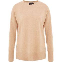 Polo Ralph Lauren Sweter camel melange. Brązowe swetry klasyczne damskie Polo Ralph Lauren, m, z materiału, polo. Za 629,00 zł.