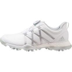 Adidas Golf ADIPOWER BOOST BOA Obuwie do golfa white/matte silver. Białe buty sportowe damskie adidas Golf, z materiału, na golfa. Za 669,00 zł.