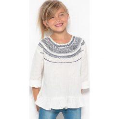 Bluzki dziewczęce bawełniane: Bluzka haftowana w stylu folkowym, 3-12 lat
