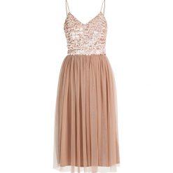Sukienki hiszpanki: Lace & Beads MAMIE Sukienka koktajlowa taupe