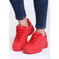 Czerwone Buty Sportowe The First Marathon. Czerwone buty sportowe damskie Born2be, z materiału. Za 89,99 zł.
