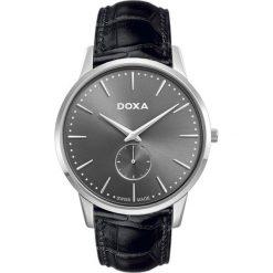 ZEGAREK DOXA Slim Line 105.10.101.01. Szare zegarki męskie DOXA, ze stali. Za 1190,00 zł.